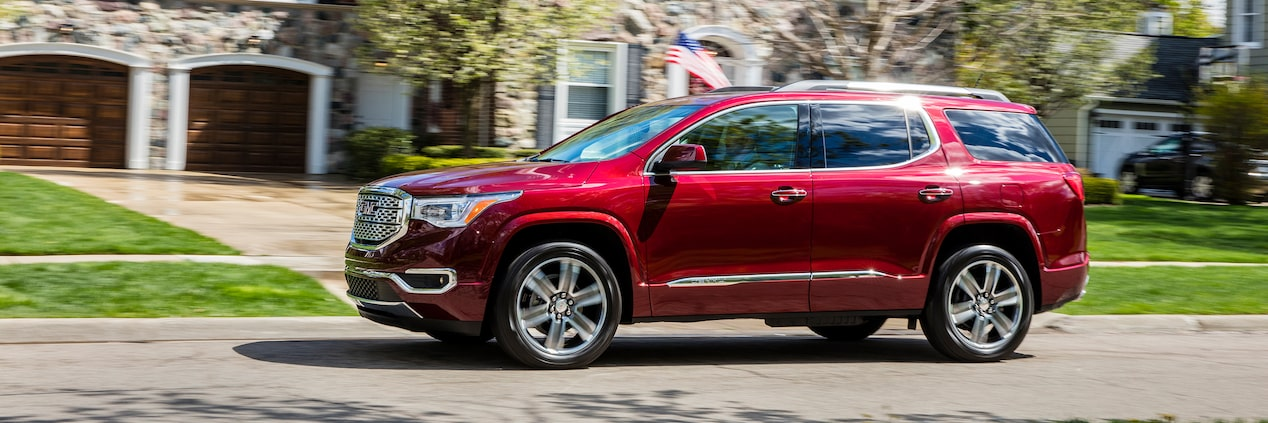 GMC life acadia family focused features.