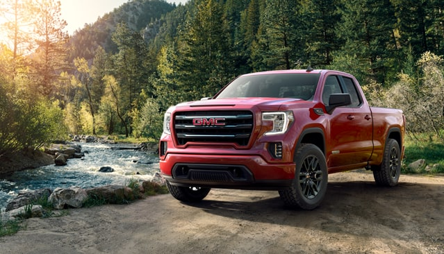 Image showing the 2019 GMC Sierra 1500 Elevation Edition pickup truck in its natural habitat.