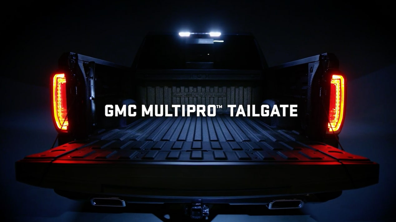 Video of the GMC Sierra MultiPro Tailgate