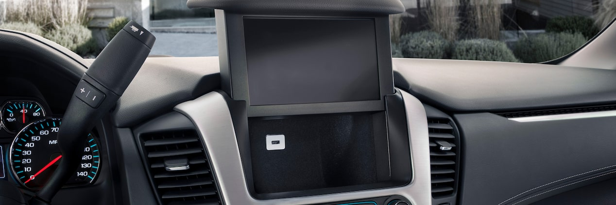 GMC Yukon with Hidden Storage behind Touch Screen