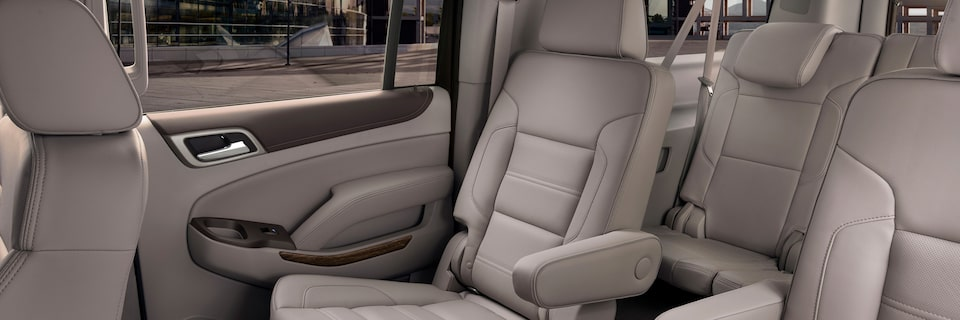 GMC Yukon XL Denali Second Row Seat Configuration