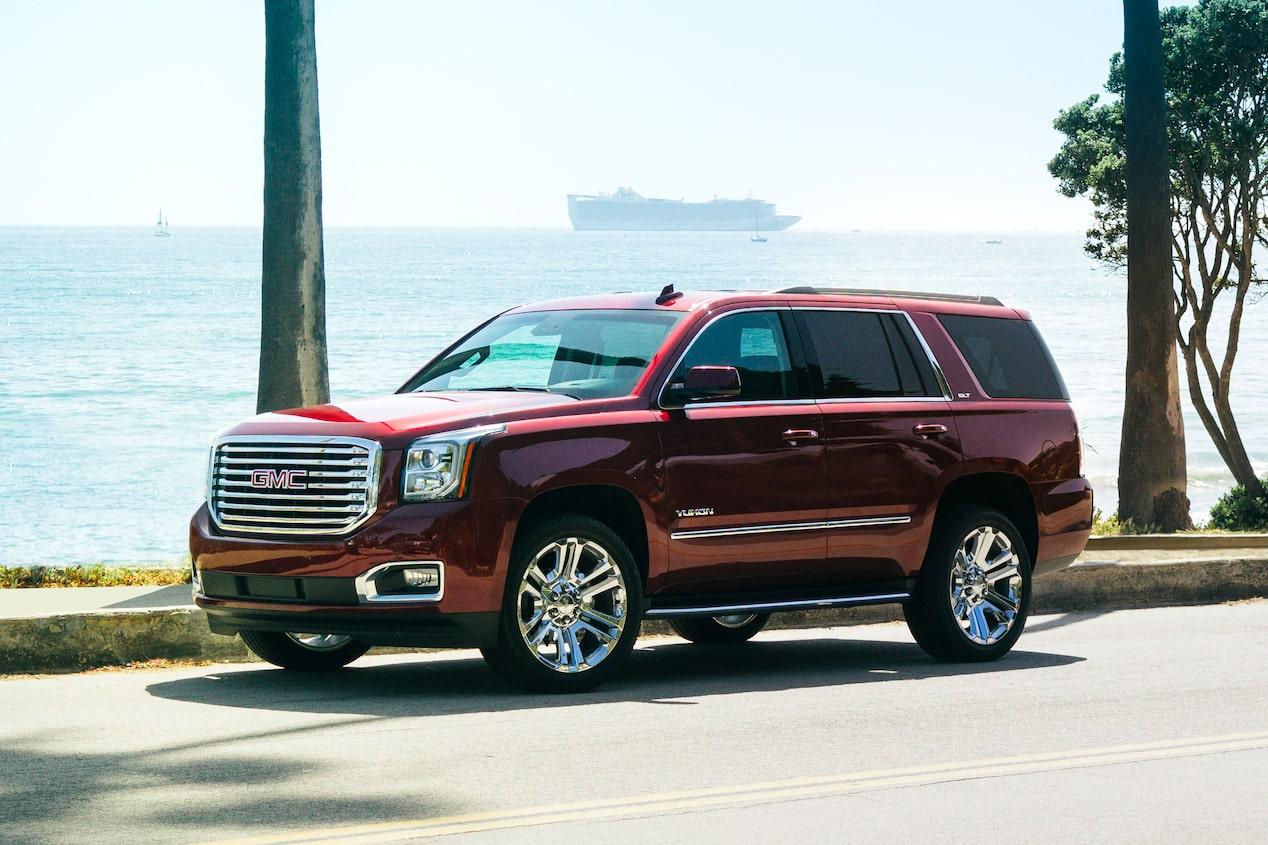 How To Unlock Steering Wheel >> Yukon SLT Premium Edition: Elevated SUV Design - GMC Life