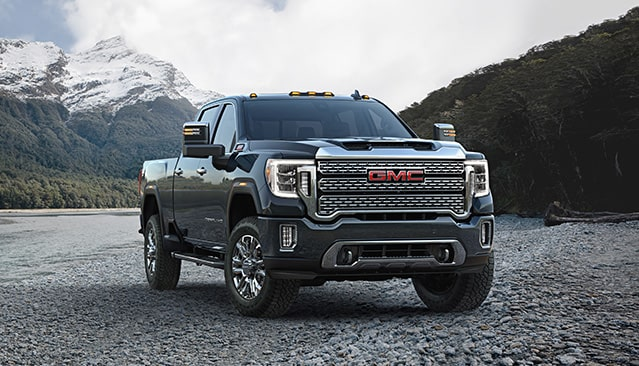 2020 GMC Sierra Heavy Duty Pickup Truck Front Side Exterior