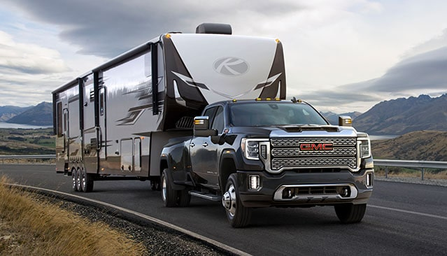2020 GMC Sierra Heavy Duty Pickup Truck Trailering