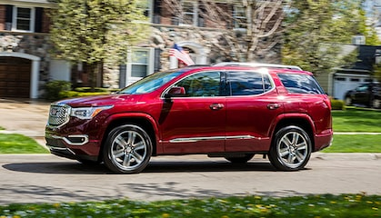 GMC life acadia family focused.