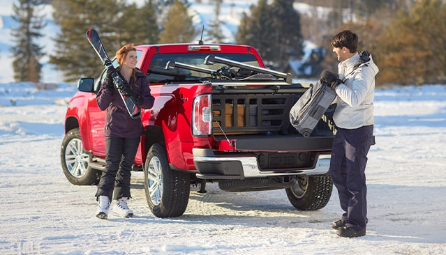 2020 GMC Canyon SLT Equipped With Ski Gear Wide Angle Masthead