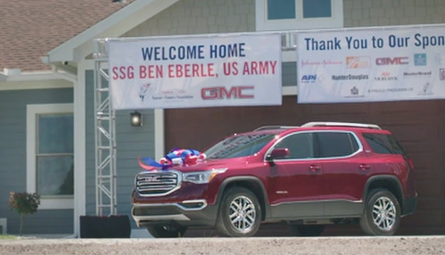 GMC Life: Welcome Home US Army with GMC Acadia