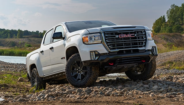 Rugged, Fierce and ready to hit the dirt introducing the GMC Canyon AT4 Off-Road Performance Edition