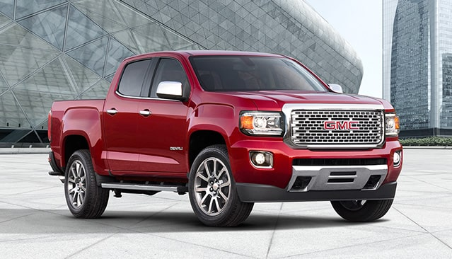 GMC life canyon denali related.