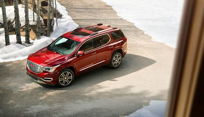 GMC LIFE: Acadia Mid-Size SUV CCA Tires