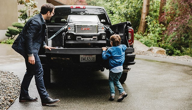 GMC life dad lap.
