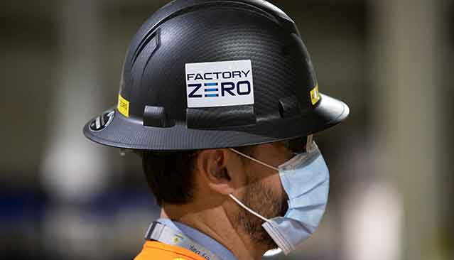 GMC Factory Zero Hard Hat