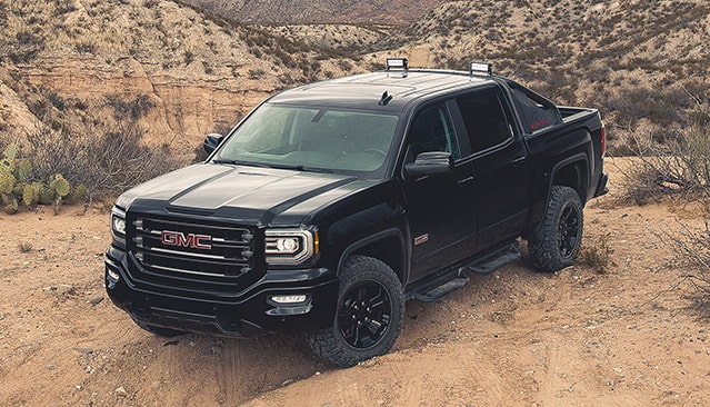 GMC life sierra 1500 all terrain.