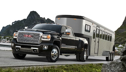 GMC life sierra hd 5th wheel.