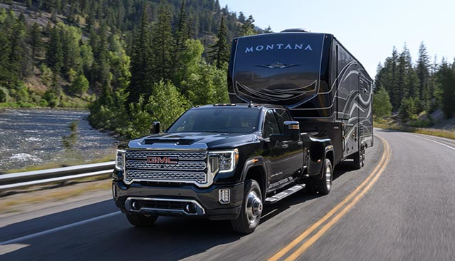 GMC life sierra hd 5th wheel related.