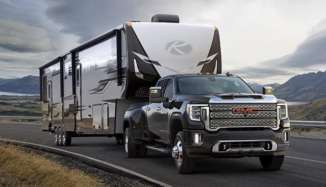 GMC life related article tips for safe trailering and towing.