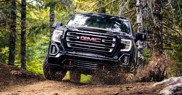 Next Gen 2019 GMC Sierra Pickup Truck: Traction Select System
