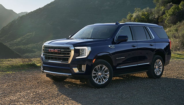 New 2021 GMC Canyon AT4 Off-Road Truck Front Grille