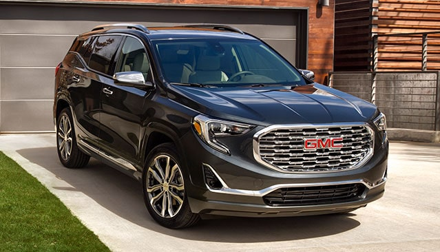 GMC Life: GMC Terrain Front Grille Close Up