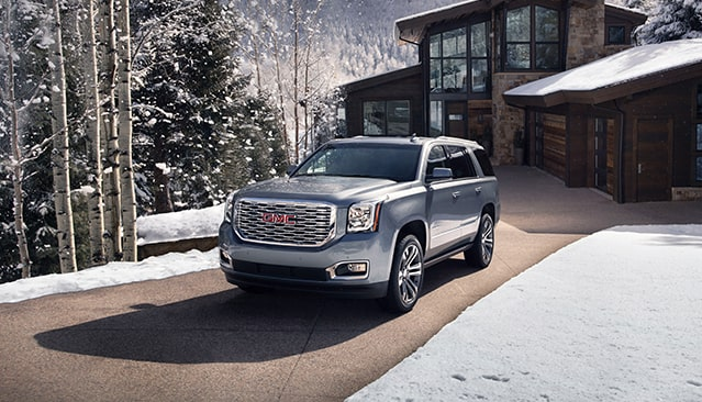 2020 GMC Yukon Denali in Satin Steel Metallic