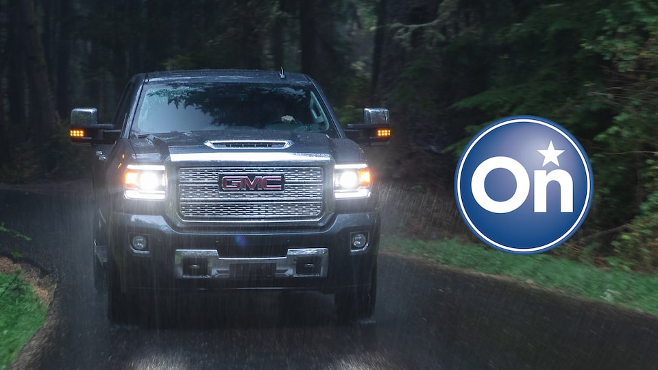 GMC Sierra Pickup Truck with OnStar Crisis Assist