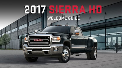 2017 Sierra HD Welcome Guide