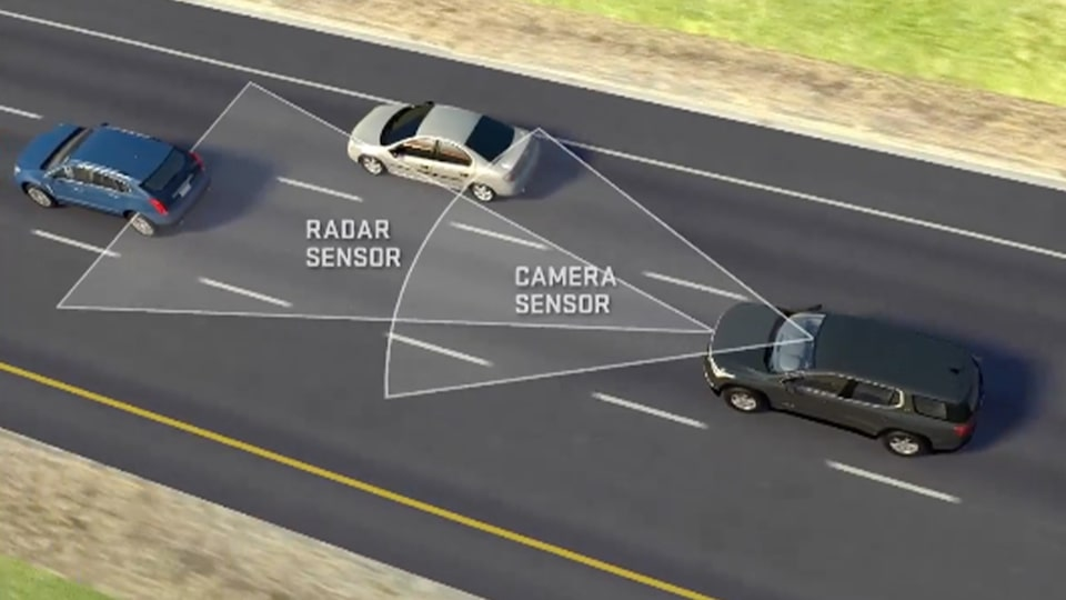 Safety: advanced adaptive cruise control