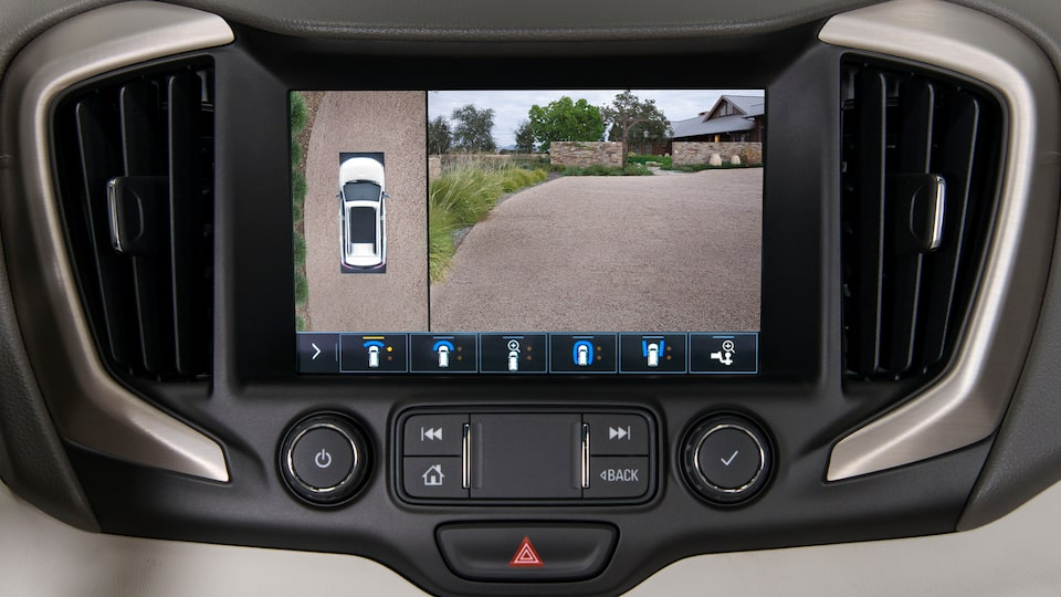 2019 GMC Safety: HD surround vision camera
