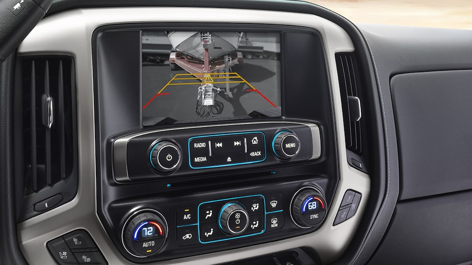 2019 GMC Safety: rear vision camera on touchscreen