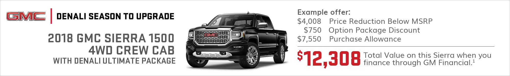 Current Offers Lease Deals Specials Incentives Gmc