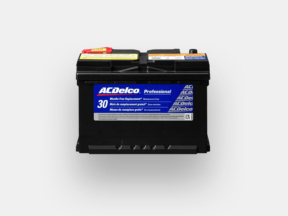 ACDelco Battery Rebate Offer from GMC Certified Service