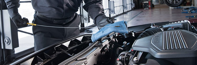 Oil Change Information from GMC Certified Service