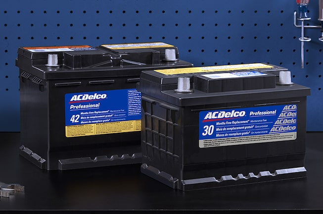 ACDelco Batteries Available through GMC Certified Service