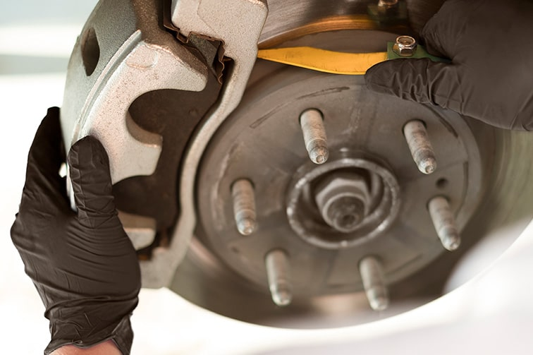 Brake rotors from GMC Certified Service