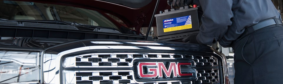 ACDelco Battery Replacement from GMC Certified Service