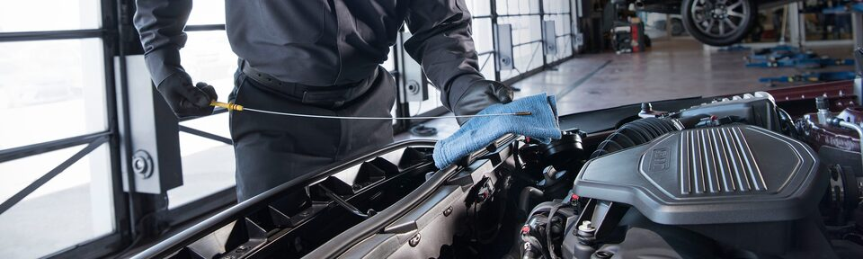 GMC Certified Service Oil Change