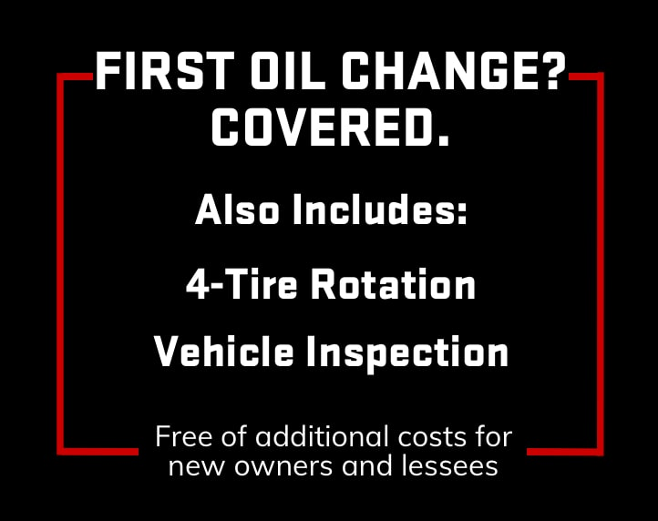 GMC Certified Service First Oil Change Covered