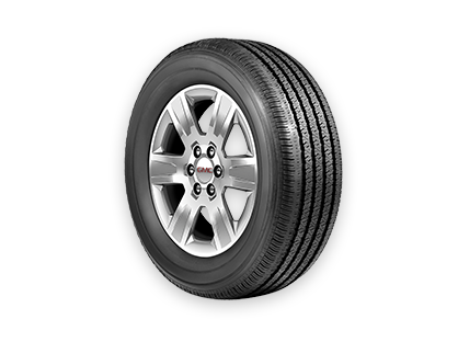 Get the Tire Price Match Guarantee on eligible brands when you purchase a set of tires from GMC Certified Service.