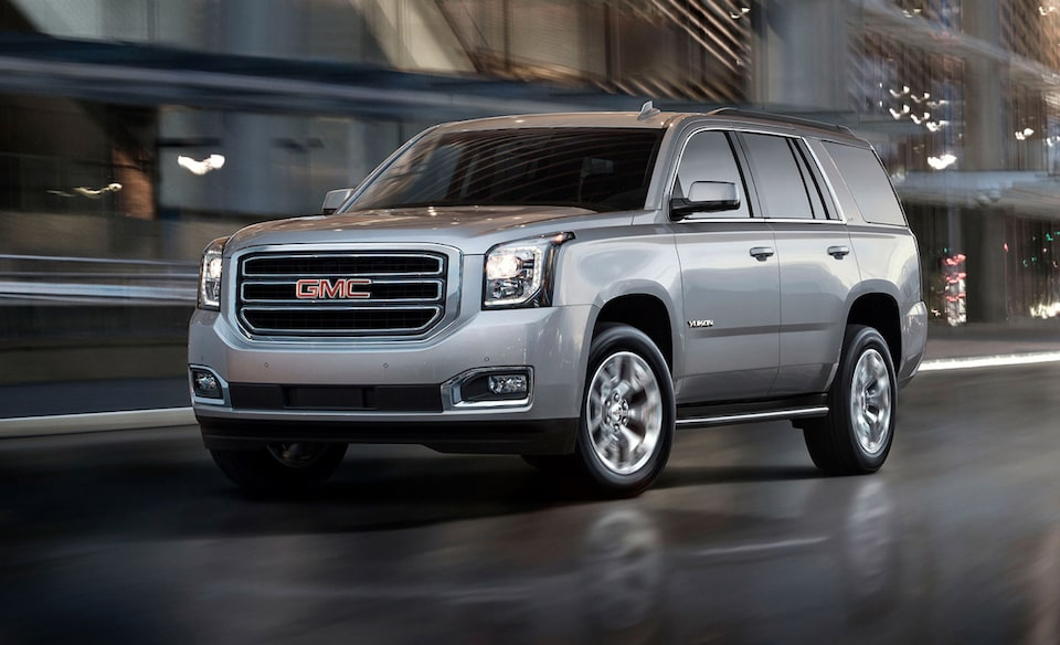 GMC Yukon Full-size SUV with Advanced Lease Protection Front Side View