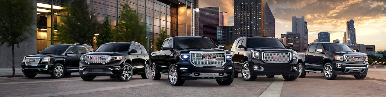 GMC SUVs and Pickup Trucks