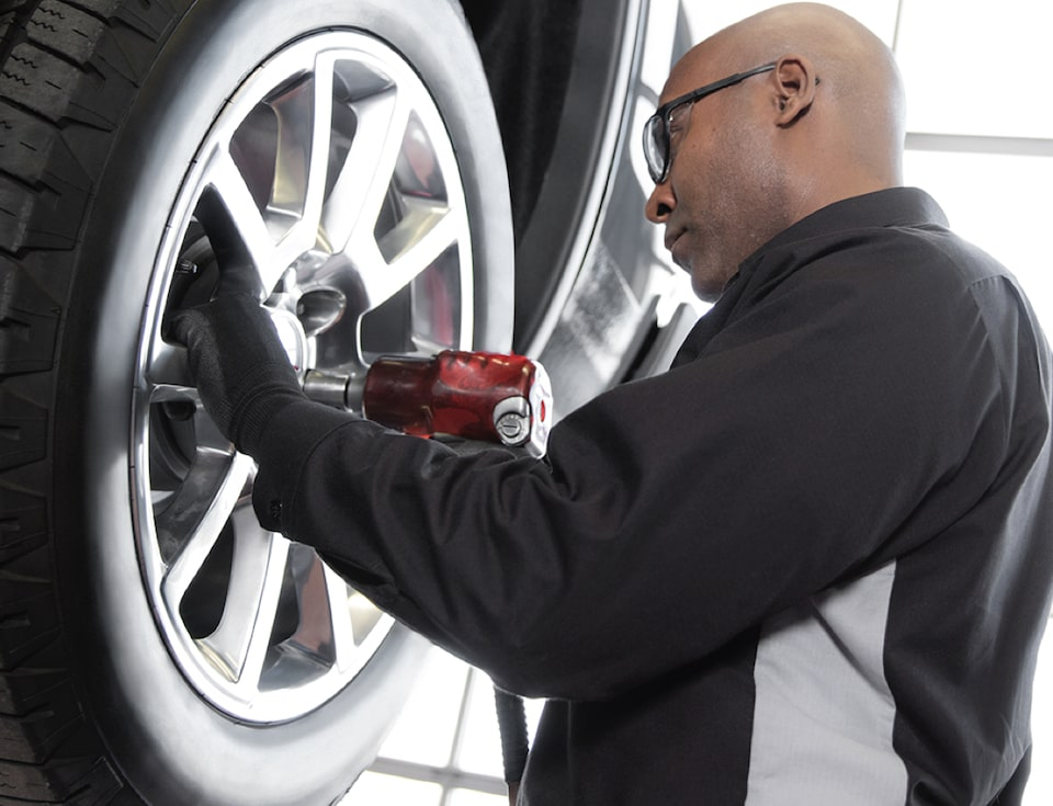 GMC Protection Expert Changing Tire