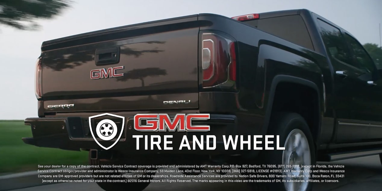 GMC Tire and Wheel Protection Video