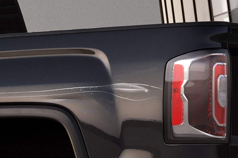Dents and Scratches covered by GMC XS Wear Lease Protection