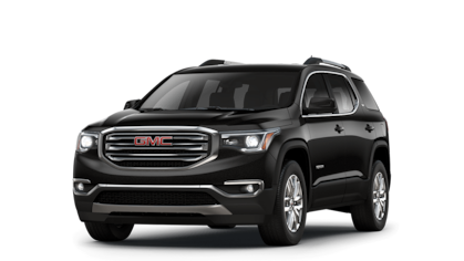 2018 GMC Acadia SLT in black.