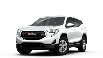 2018 GMC Terrain SLE in White