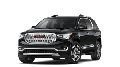 2019 GMC Acadia Denali in Black