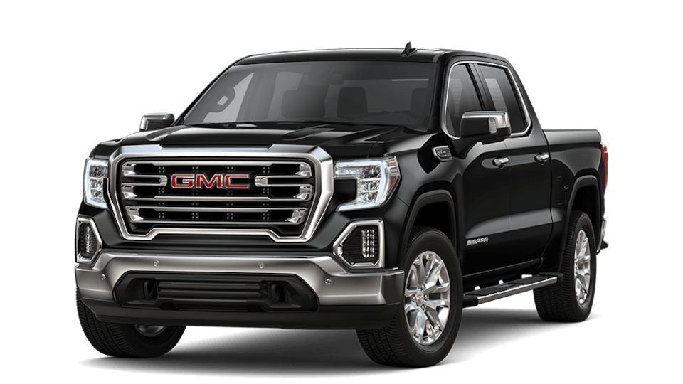 2019 GMC Sierra 1500 SLT Crew Short in Black