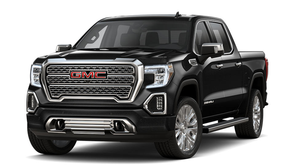 2021 GMC Sierra 1500 Denali Ultimate Crew Cab Short Bed in Black