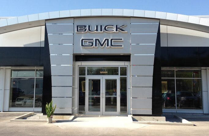 Buick and GMC dealership.