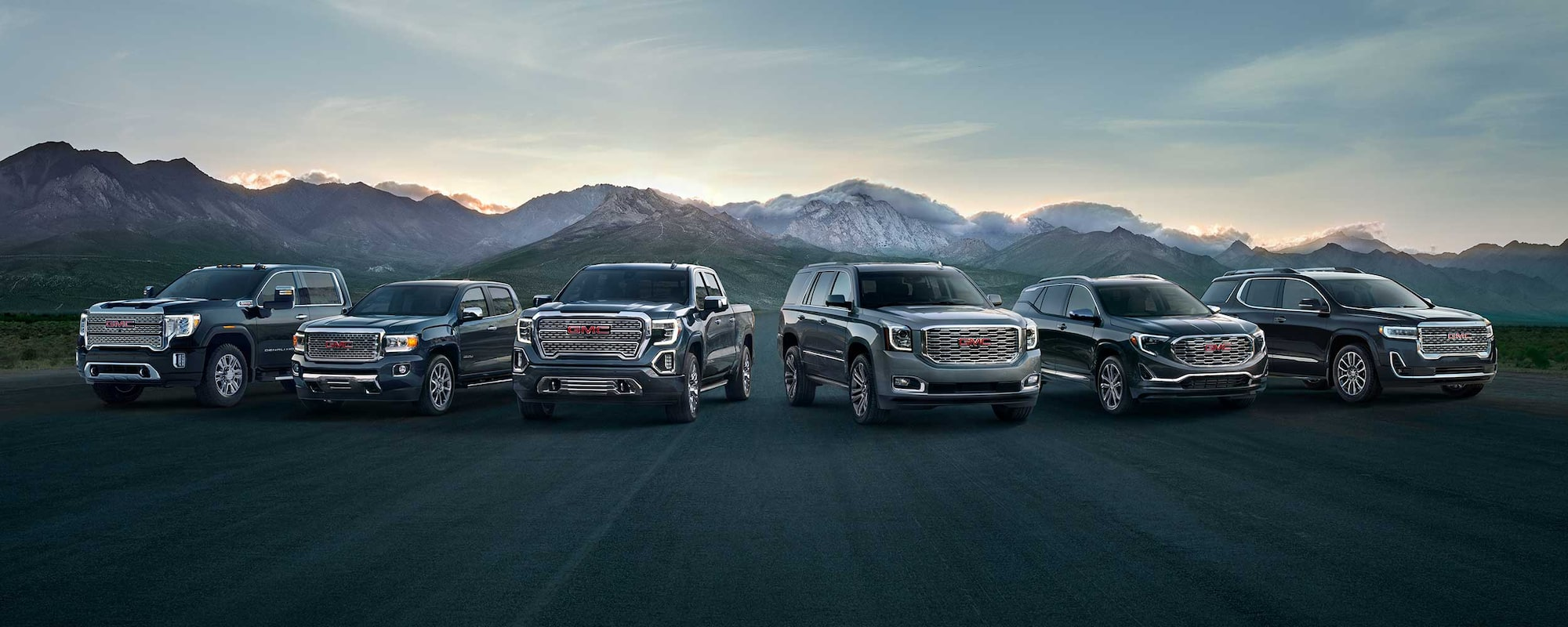Shop Click Drive GMC Full SUV and Truck Lineup